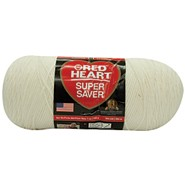 Red Heart® Medium Weight #4 Yarn Soft White