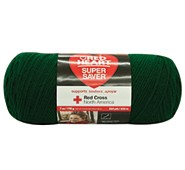 Red Heart® Medium Weight #4 Yarn Hunter Green