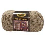 Lion Brand® 4-Ply Worsted Weight/ Medium Weight #4 Wool Blend Yarn Mushroom