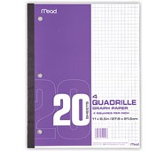 Mead® Graph Paper Tablet