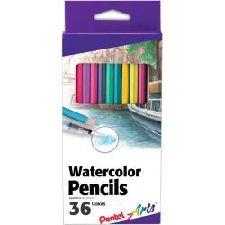 Pentel Arts® Water Color Pencils 36 Assorted Colors
