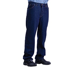 Image for product: Dickies Men's Dark Navy Blue Denim Jeans-46/32