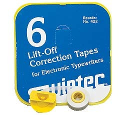 6 Pk Lift Off Correction Tape (#SWS-422)