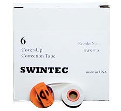 6 Pk Cover Up Correction Tape (#SWS-530)