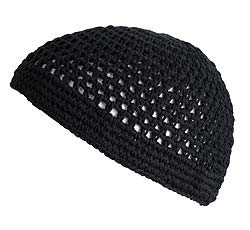 Knit Kufi Cap (KK BLACK)