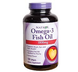 Natrol Omega-3 Fish Oil 1000mg 150sg