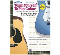 Alfred Guitar Method - Teach Yourself to Play Guitar (Book Only)
