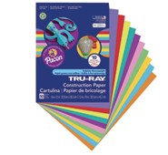 Assorted Construction Paper Bright Colors