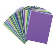 Assorted Construction Paper Cool Colors