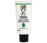 Dina Wakley® Media Heavy Body Acrylic Paints Evergreen